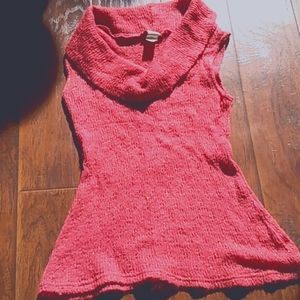 Be cool sleeveless vest sweater size small